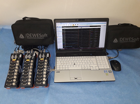 DEWE-43 measuring system from DEWETRON