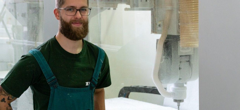 Michal, Obsluha a seřizovač CNC, Modelárna